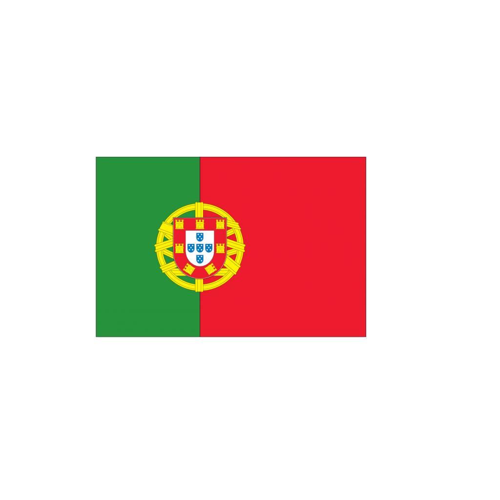 Portugese vlag Sticker