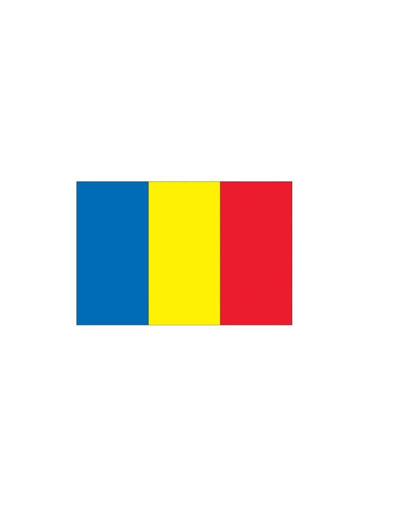 Roemeense vlag Sticker