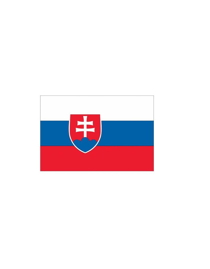 Slowaakse vlag Sticker