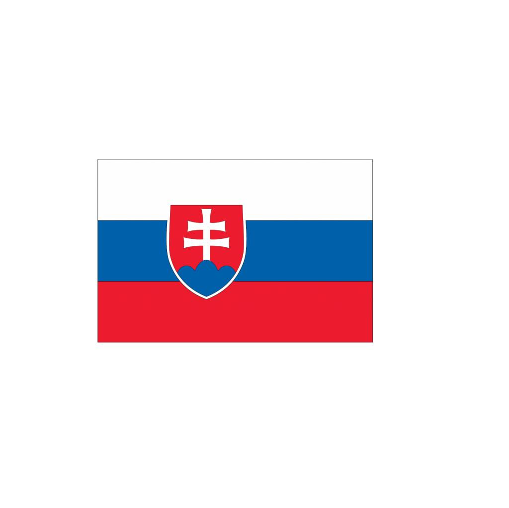 Slowaakse vlag Sticker