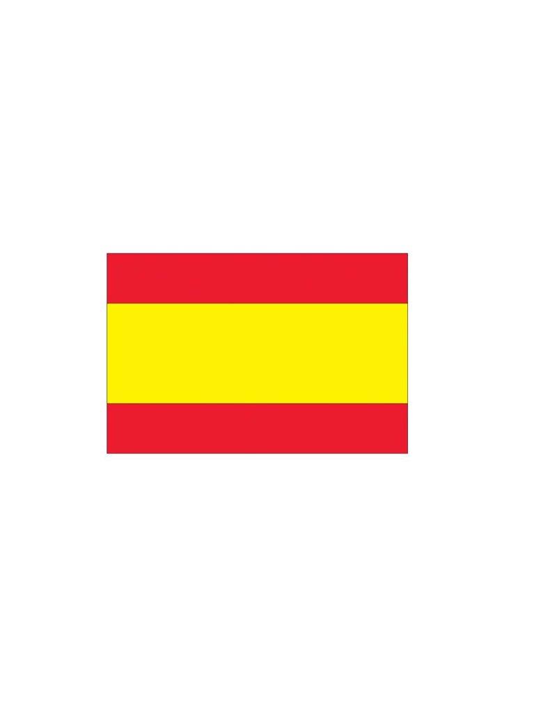 Spaanse vlag Sticker