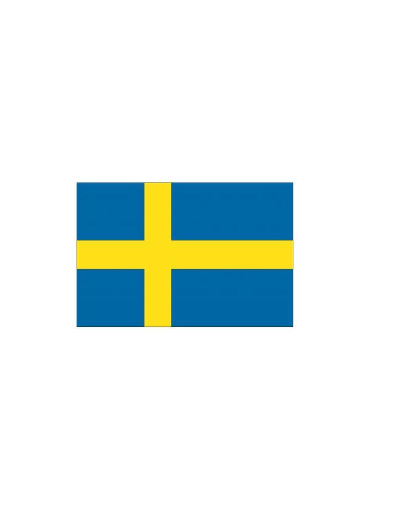 Zweedse vlag Sticker
