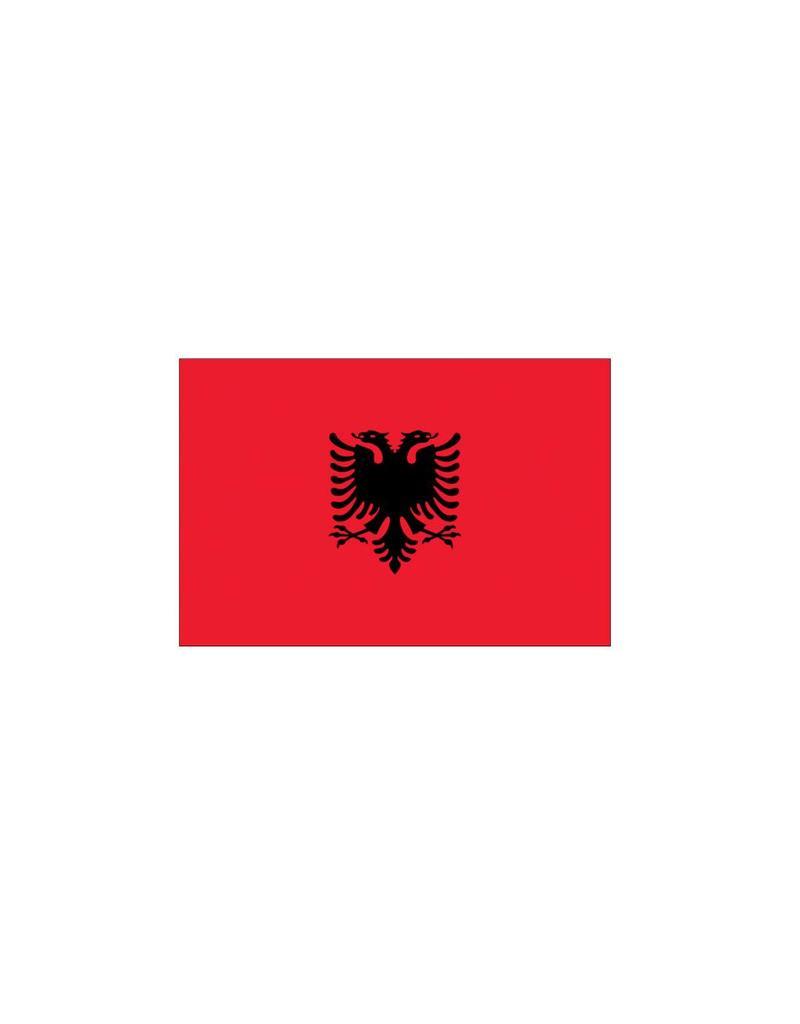 Albaanse vlag Sticker