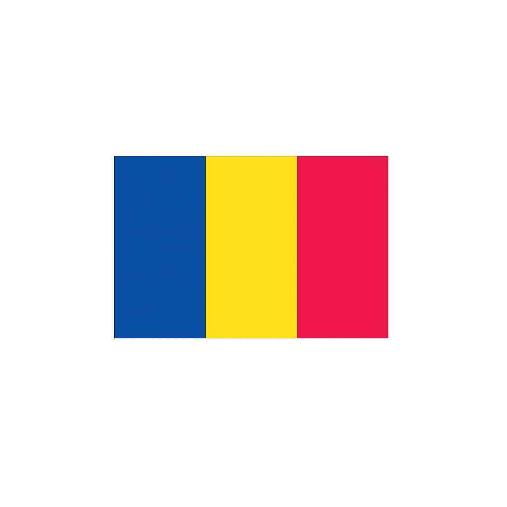 Andorra vlag Sticker