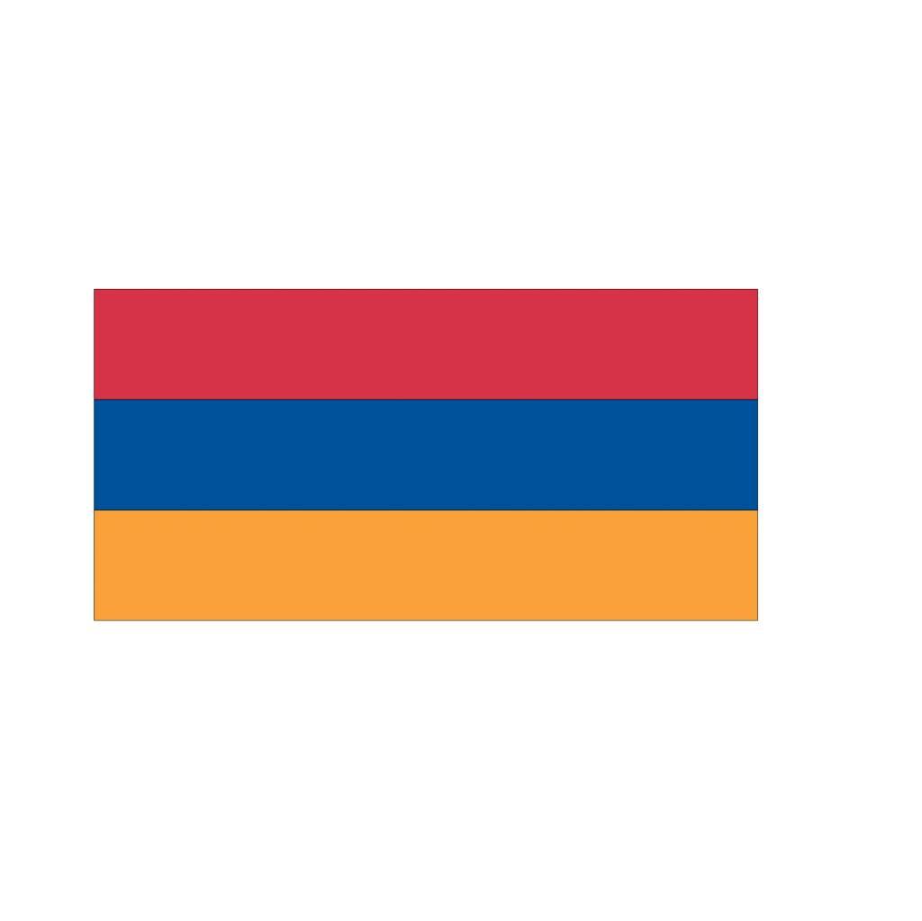 Armeense vlag Sticker