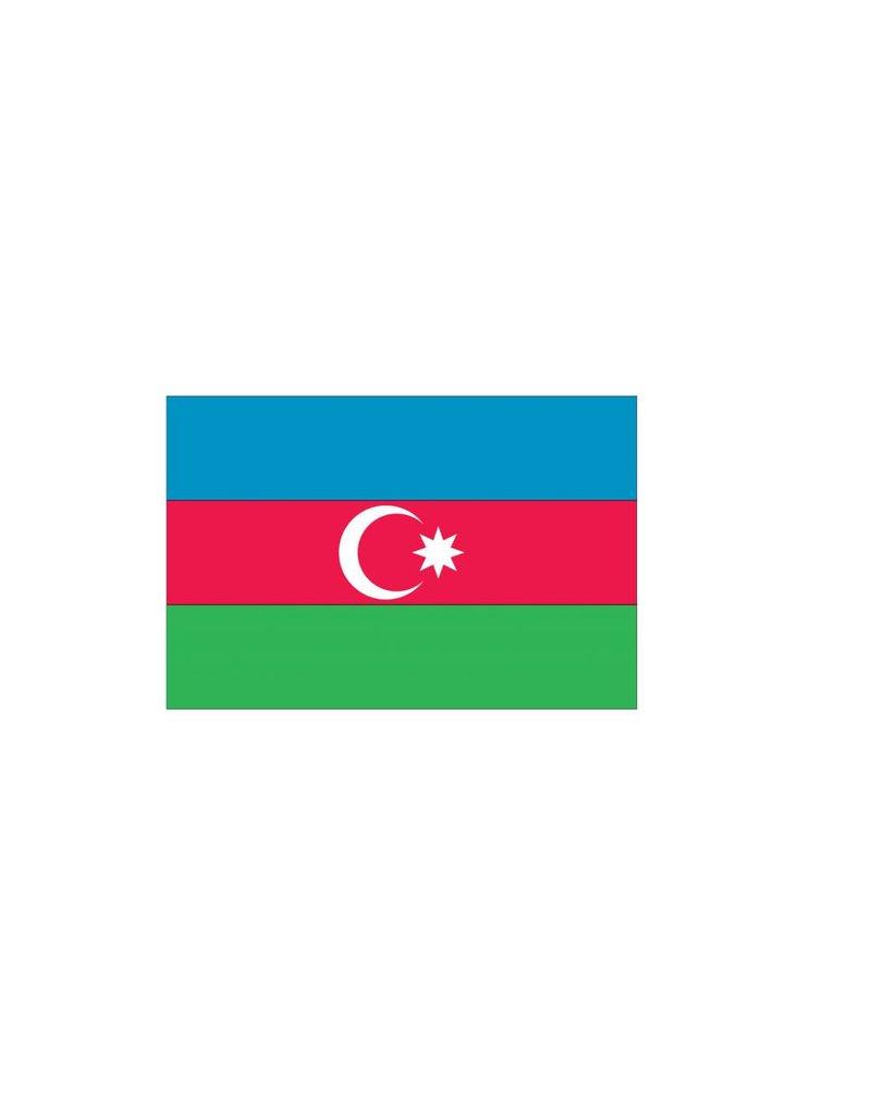 Azerbeidzjaanse vlag Sticker