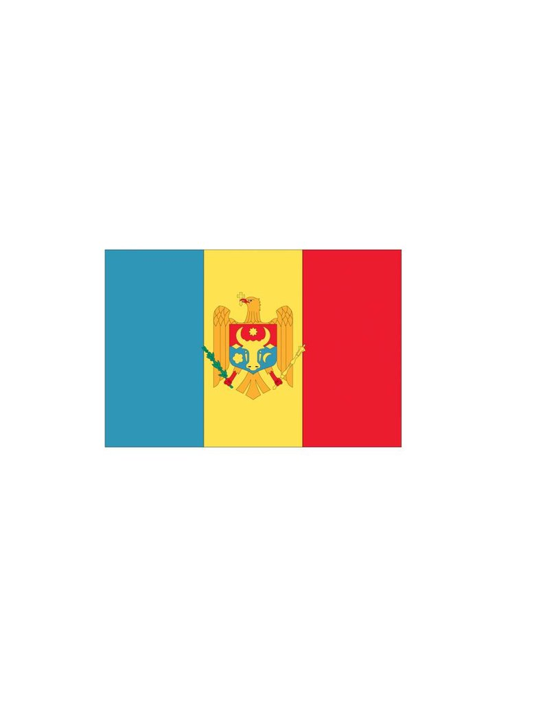 Moldavische vlag Sticker