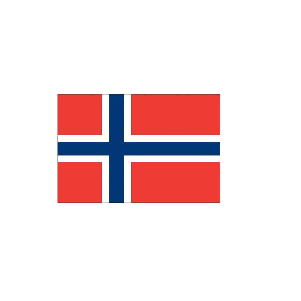 Noorse vlag Sticker