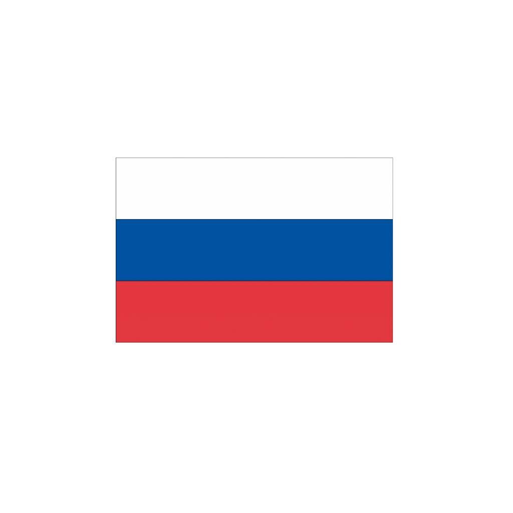 Russische vlag Sticker