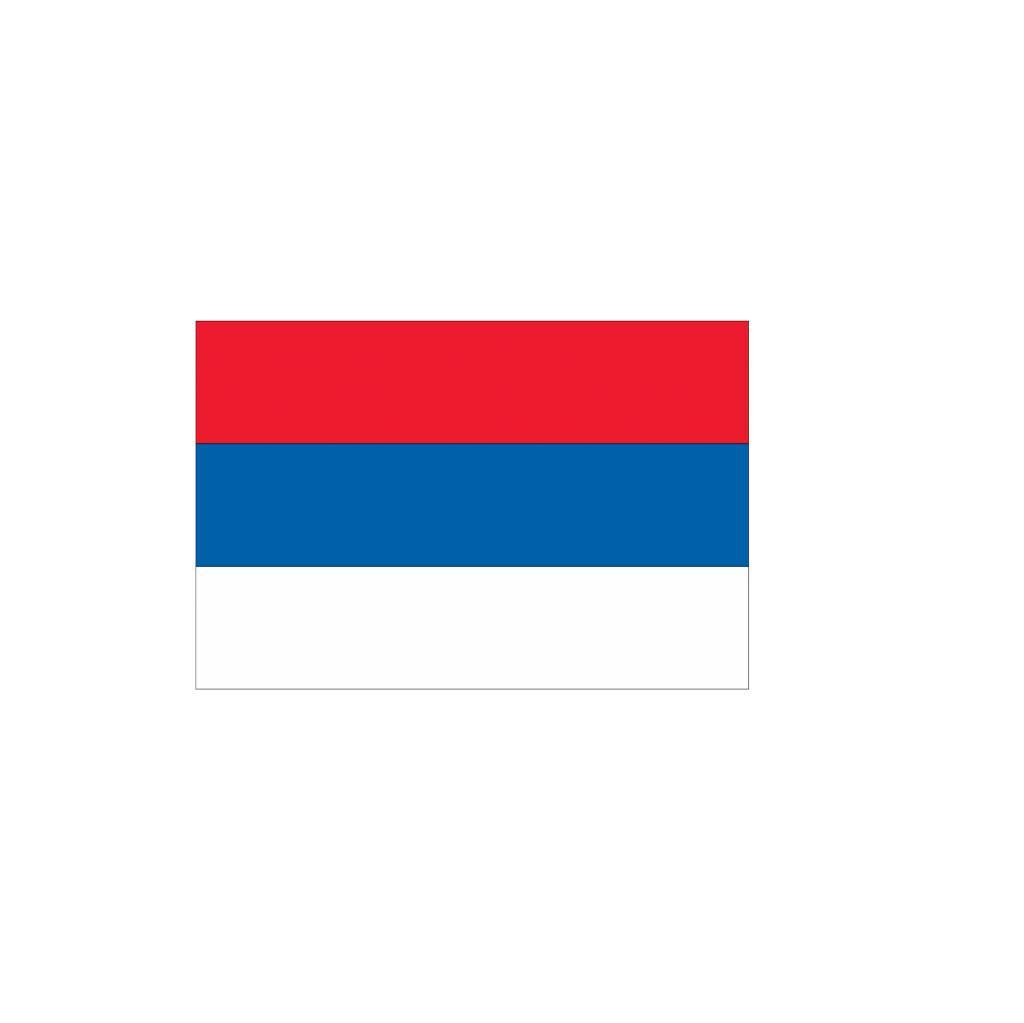 Servische vlag Sticker