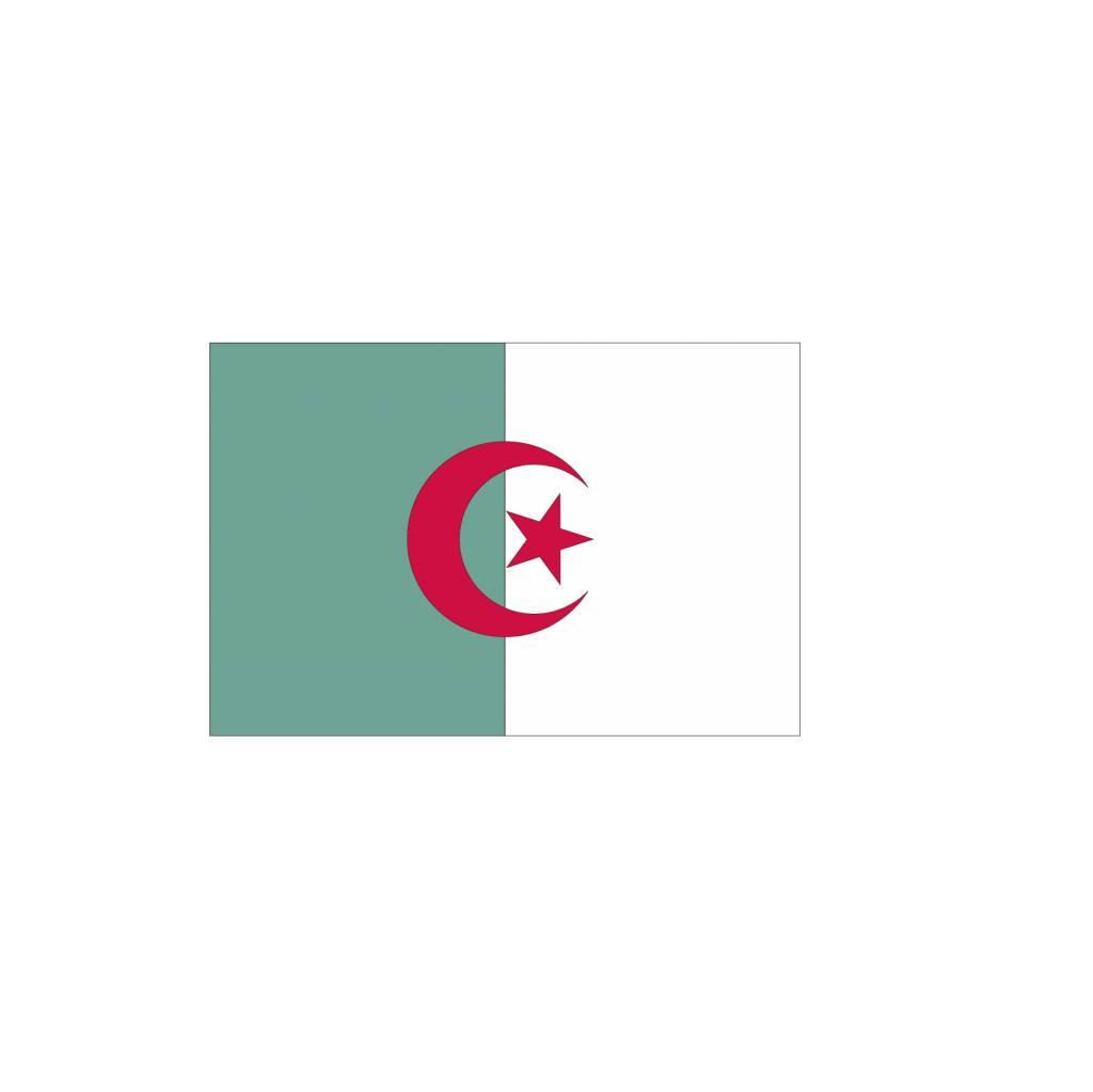 Algerijnse vlag Sticker