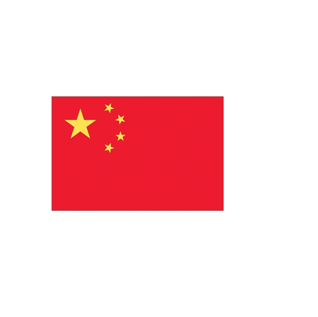 Chinese vlag Sticker