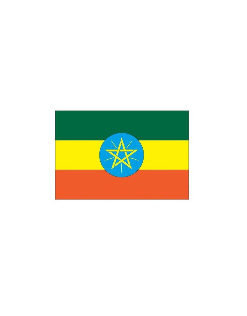 Ethiopische vlag Sticker