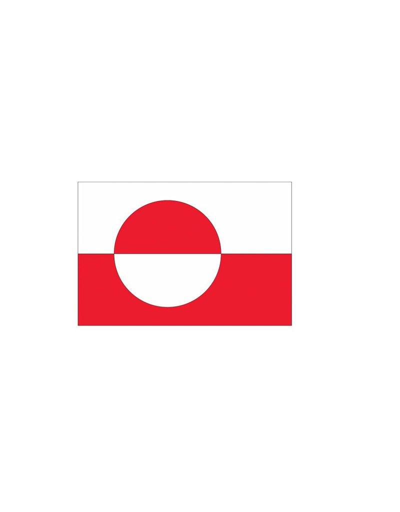 Groenlandse vlag Sticker