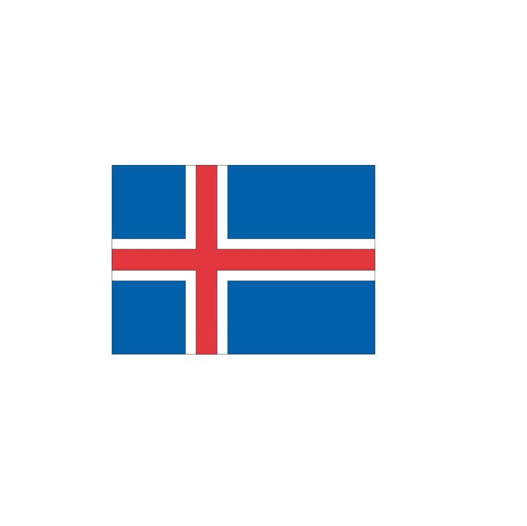 IJslandse vlag Sticker
