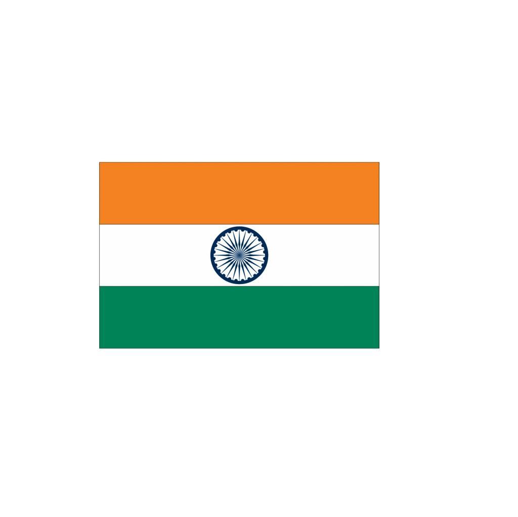 Indiase vlag Sticker