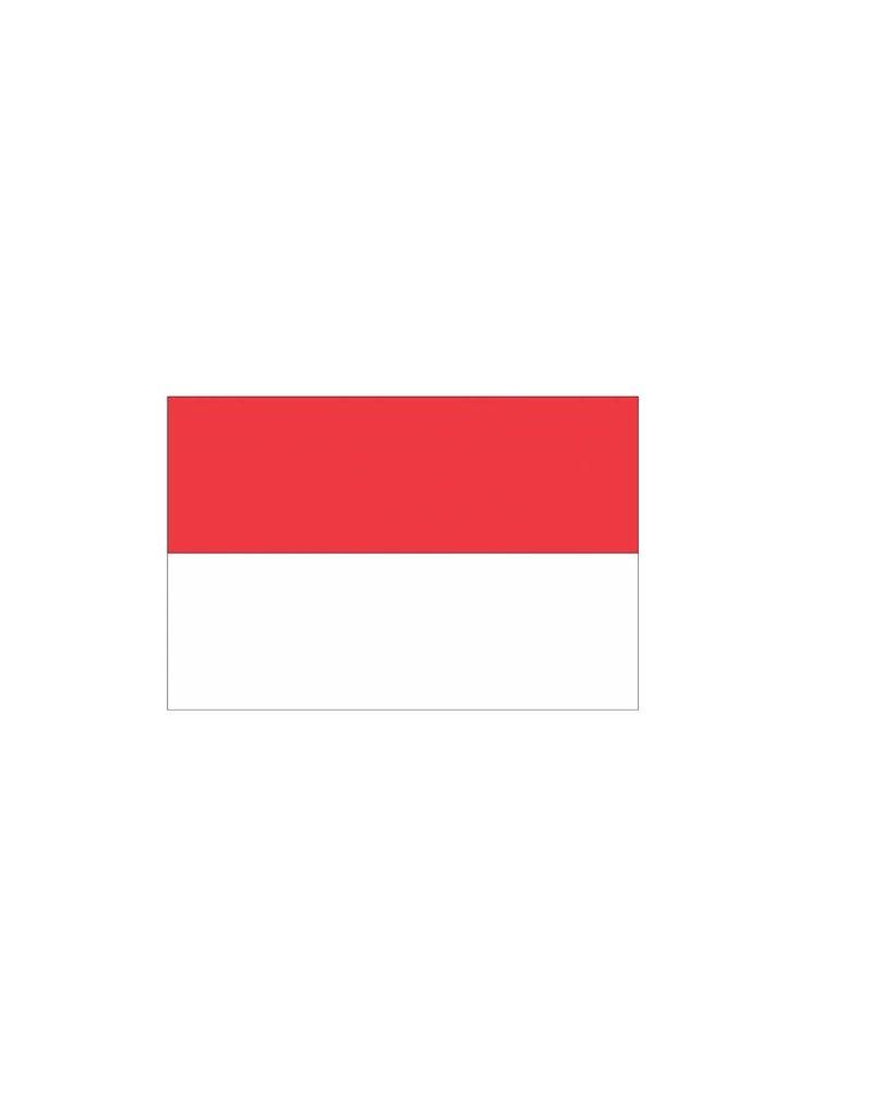 Indonesische vlag Sticker
