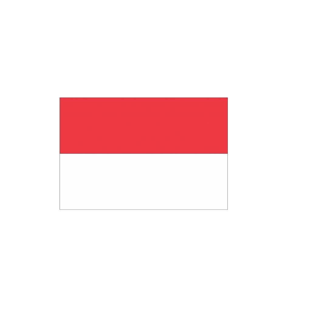 Indonesische Vlag Sticker Dr Sticker