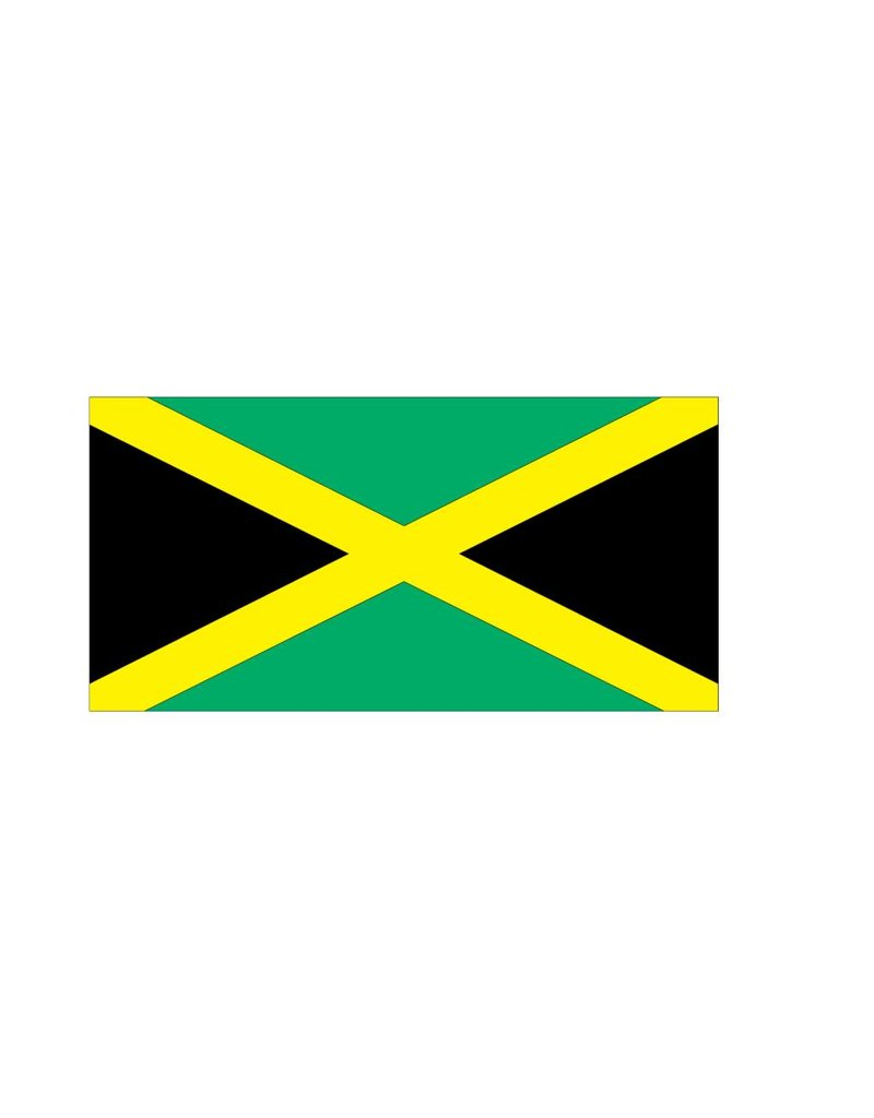 Jamaicaanse vlag Sticker