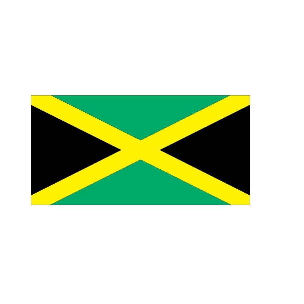 Jamaicaanse vlag Sticker