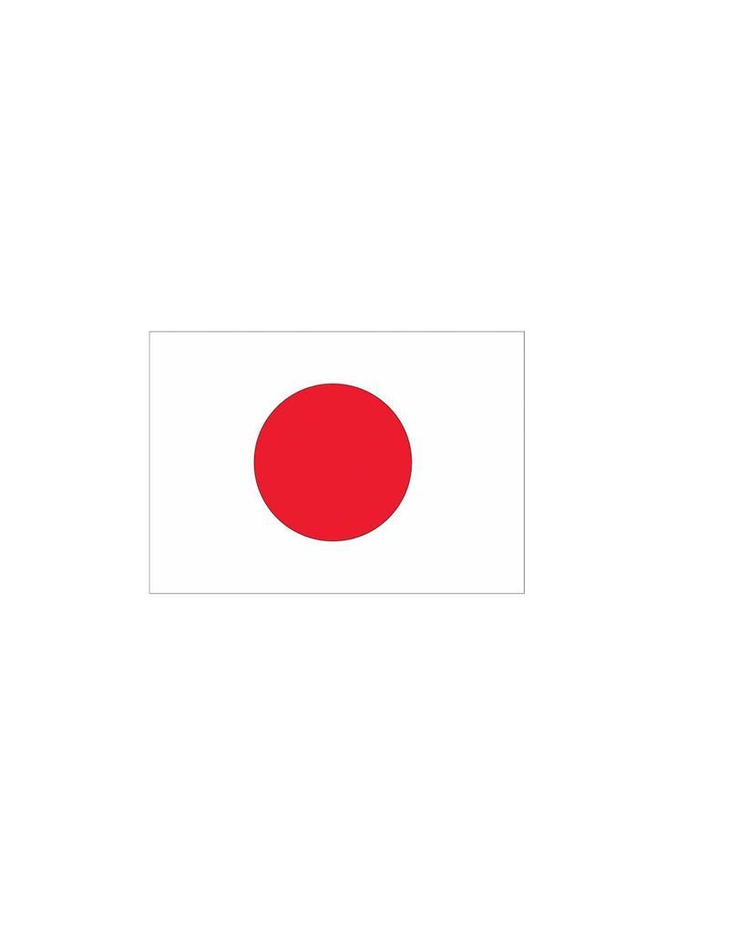Japanse vlag Stickers