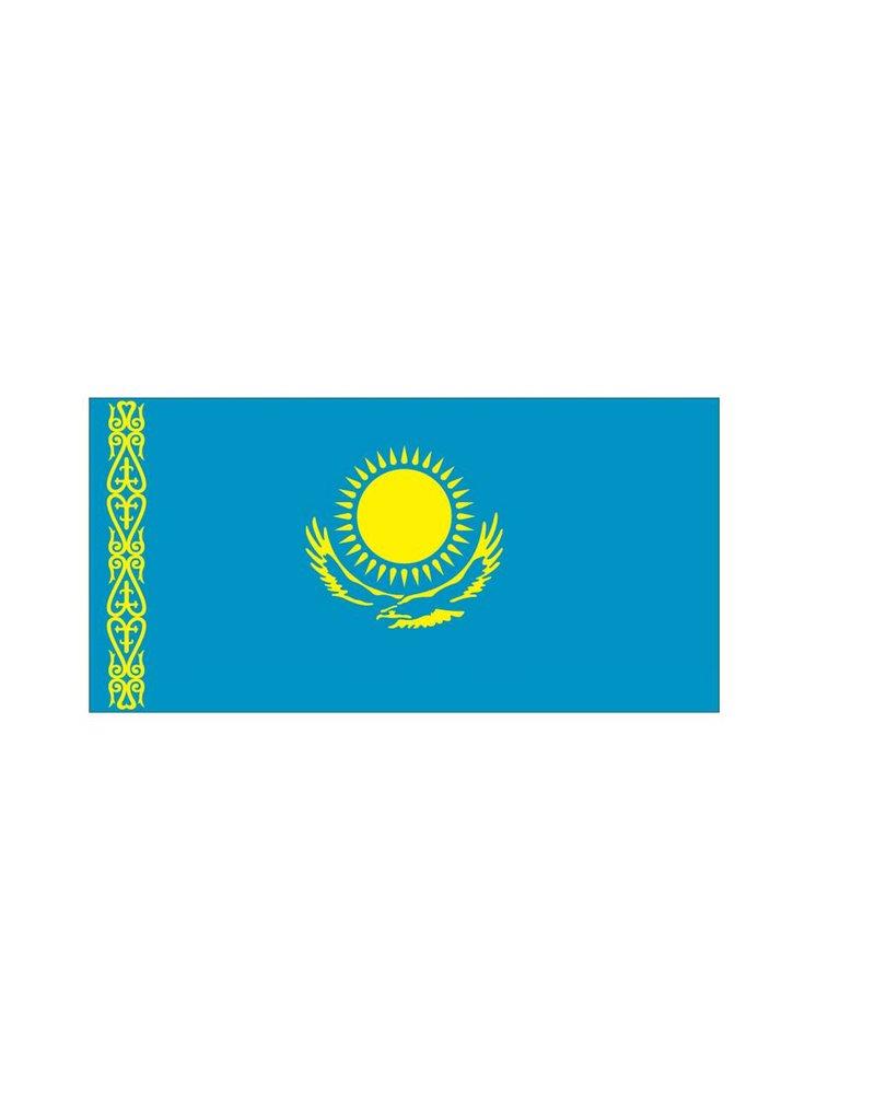 Kazachstaanse vlag Stickers