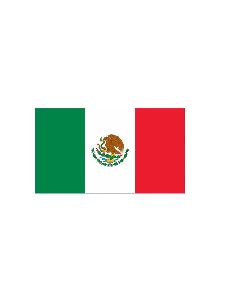 Mexicaanse vlag Sticker