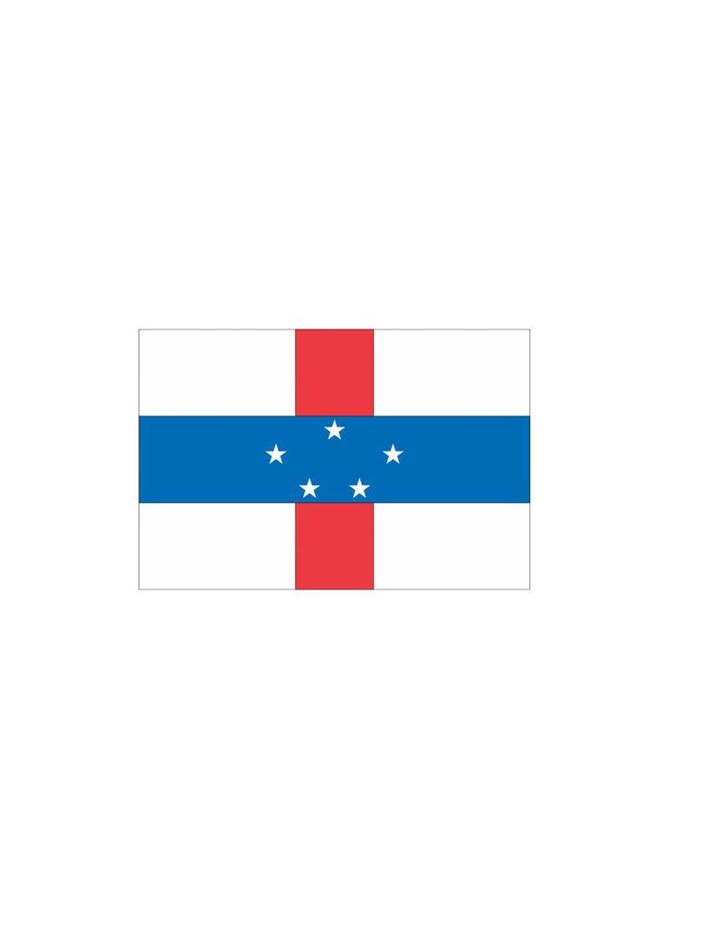 Nederlandse Antillen vlag Sticker