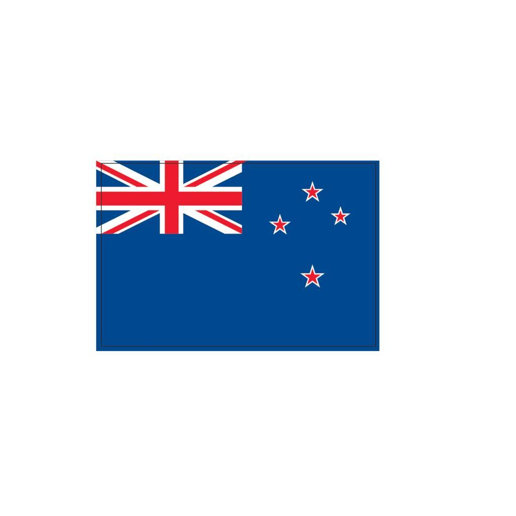 Pegatina bandera Nueva Zelanda