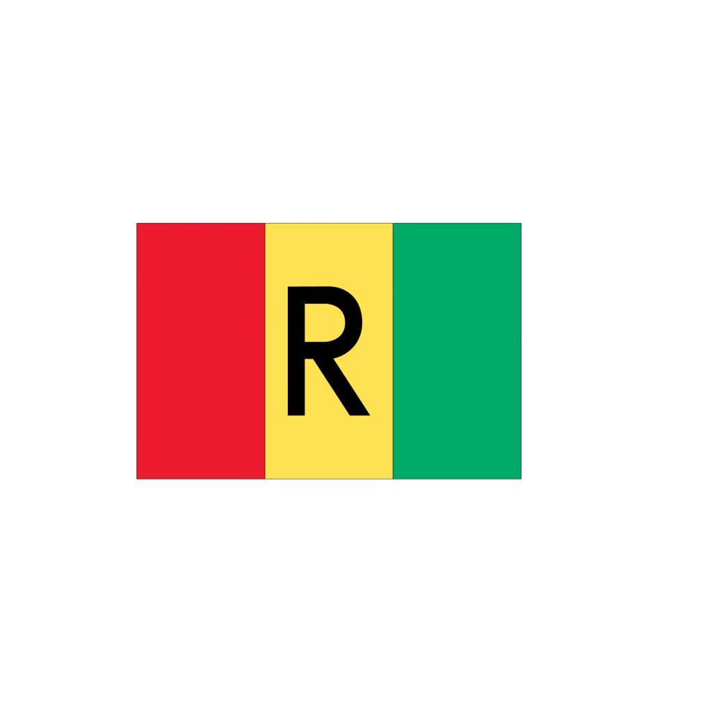 Rwanda vlag Sticker