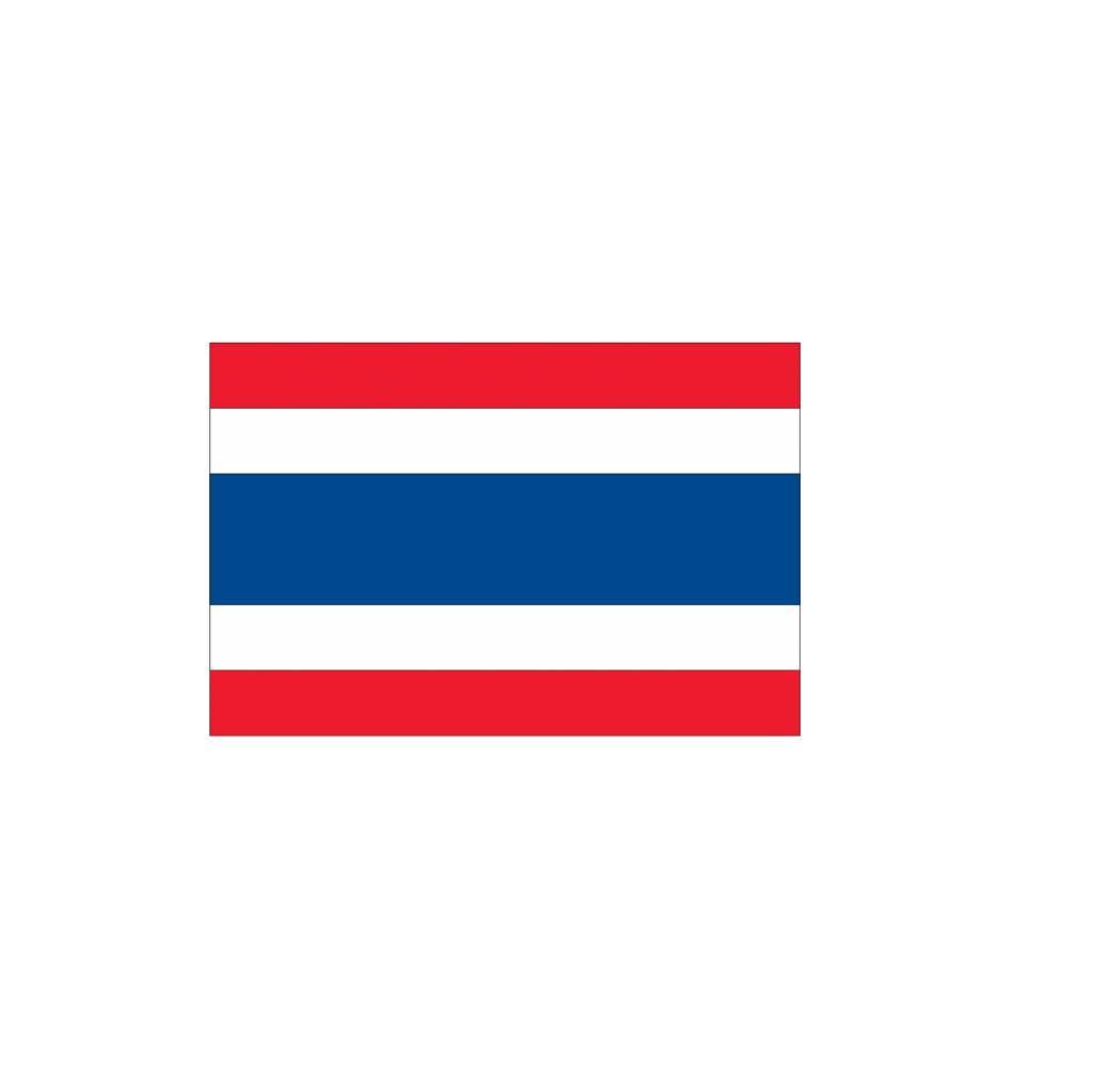 Thaise vlag Sticker