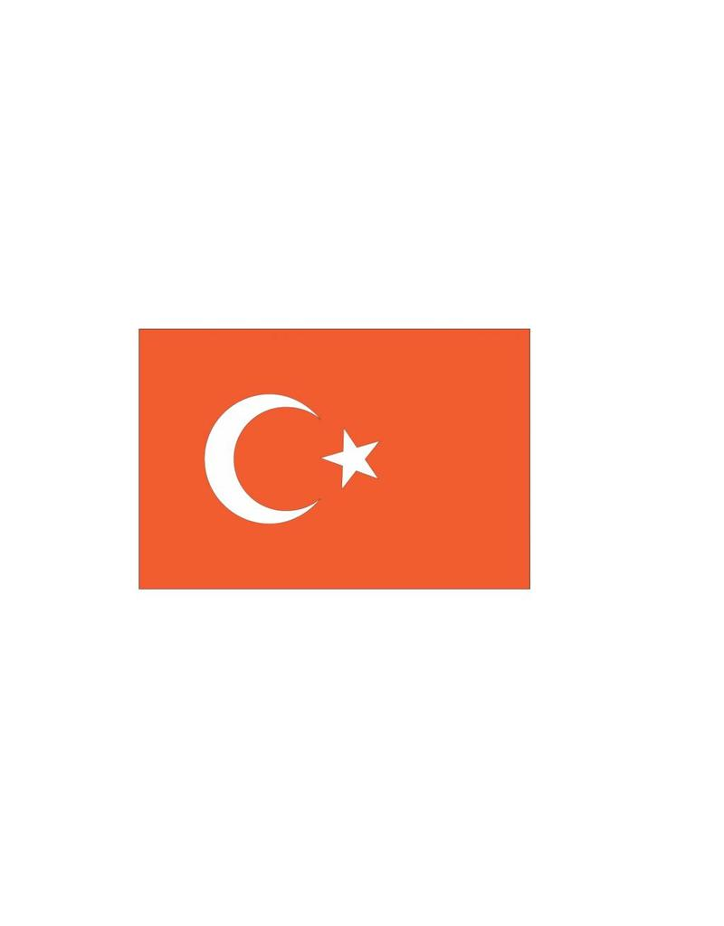 Turkse vlag Sticker