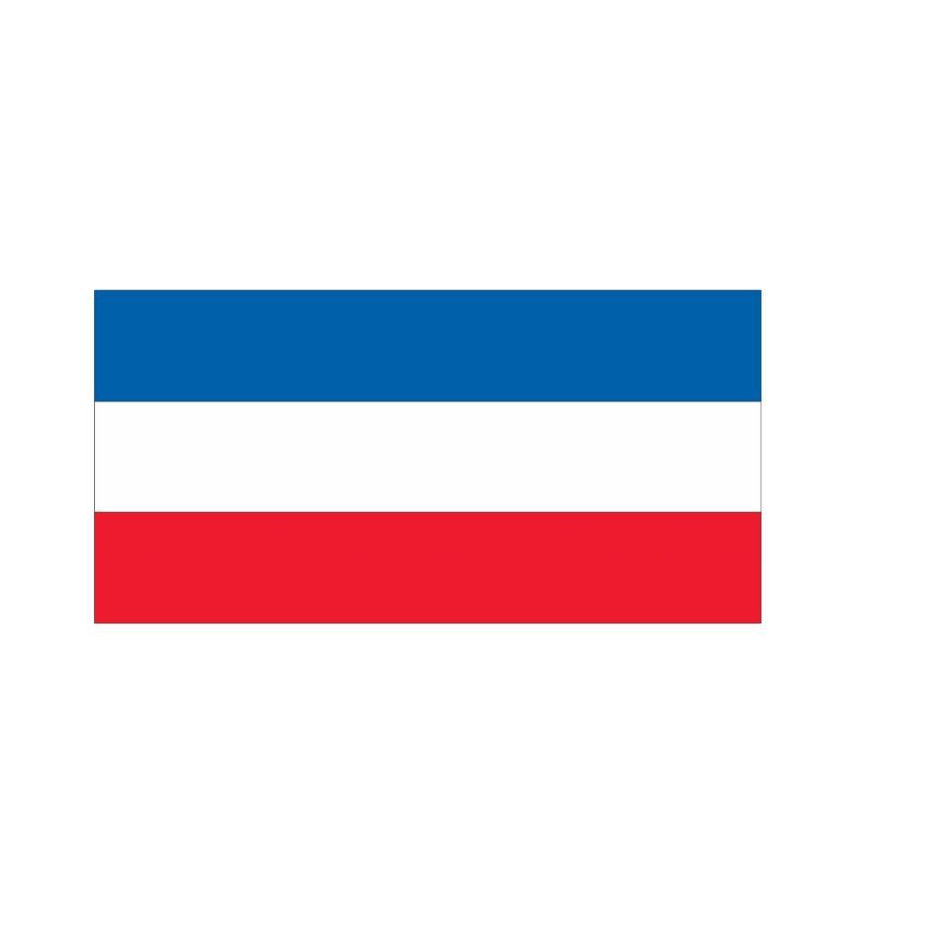 Joegoslavische vlag Sticker