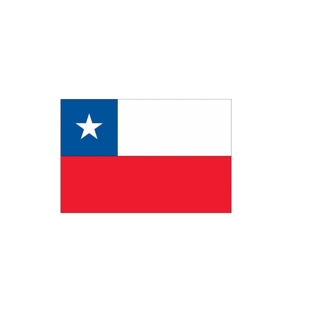 Chili vlag sticker