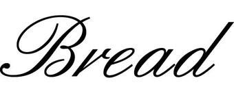 Bread Klebebuchstaben