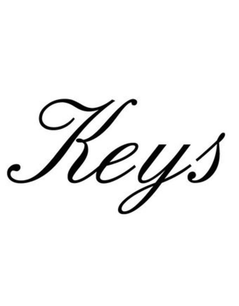 Keys Letter Stickers