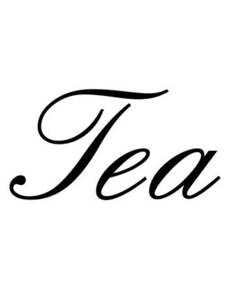 Tea Klebebuchstaben