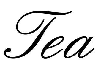 "Letras: ""Tea """