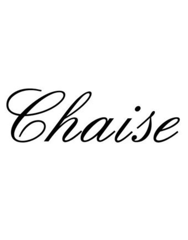 Chaise lettres adhésives