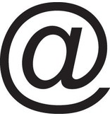 @-sign Letter Stickers
