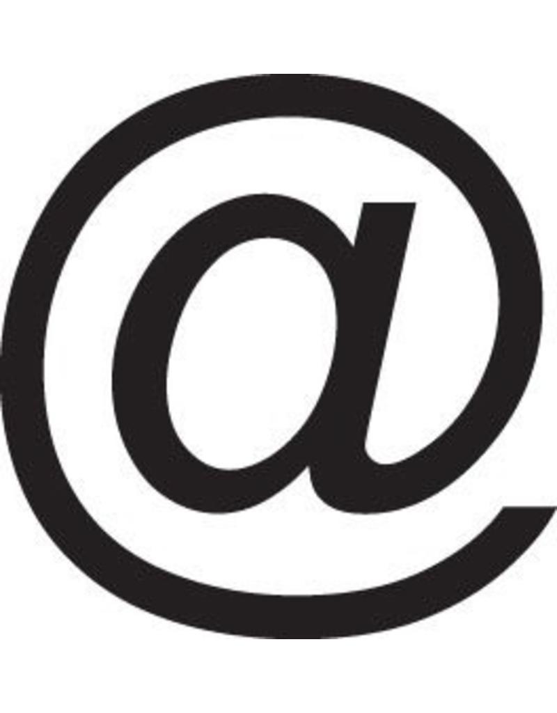 @-lettres adhésives