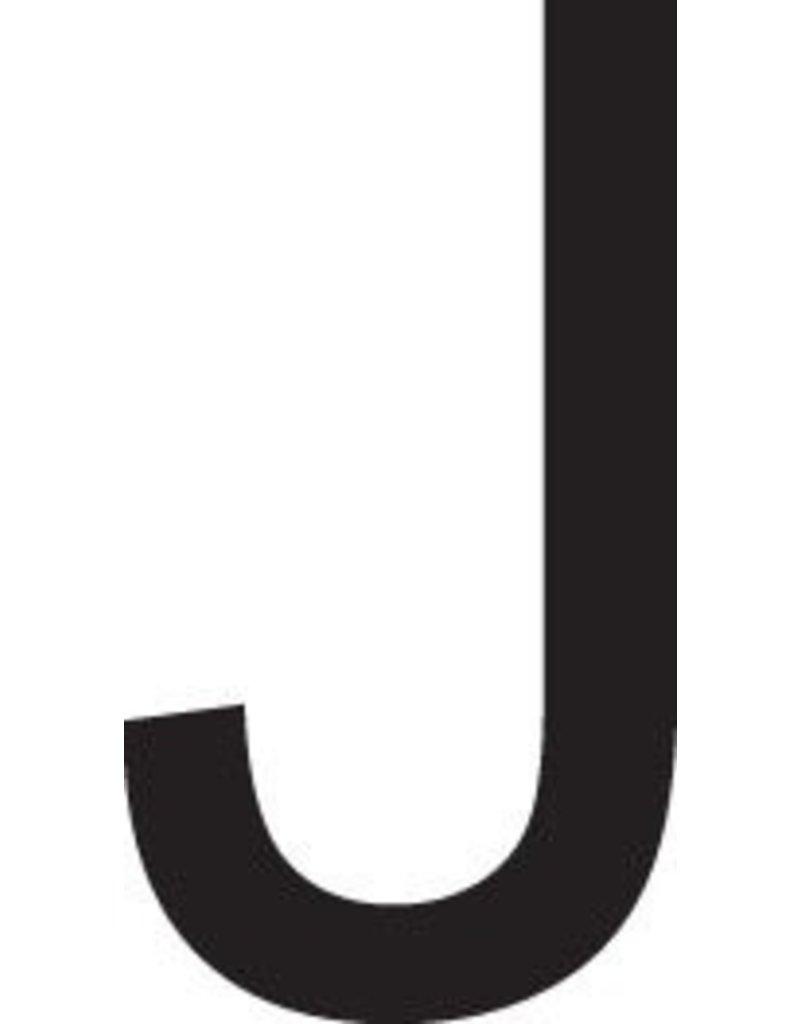 J lettres adhésives