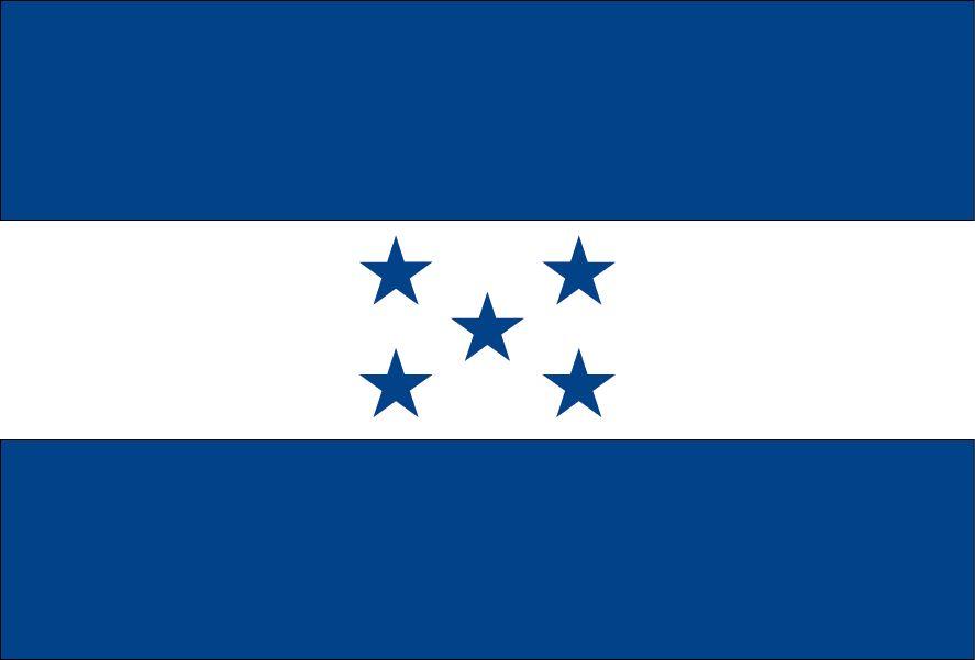 Honduras vlag