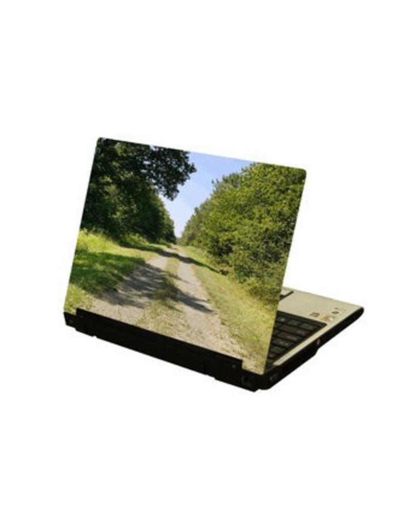 Voie de terre laptop autocollant
