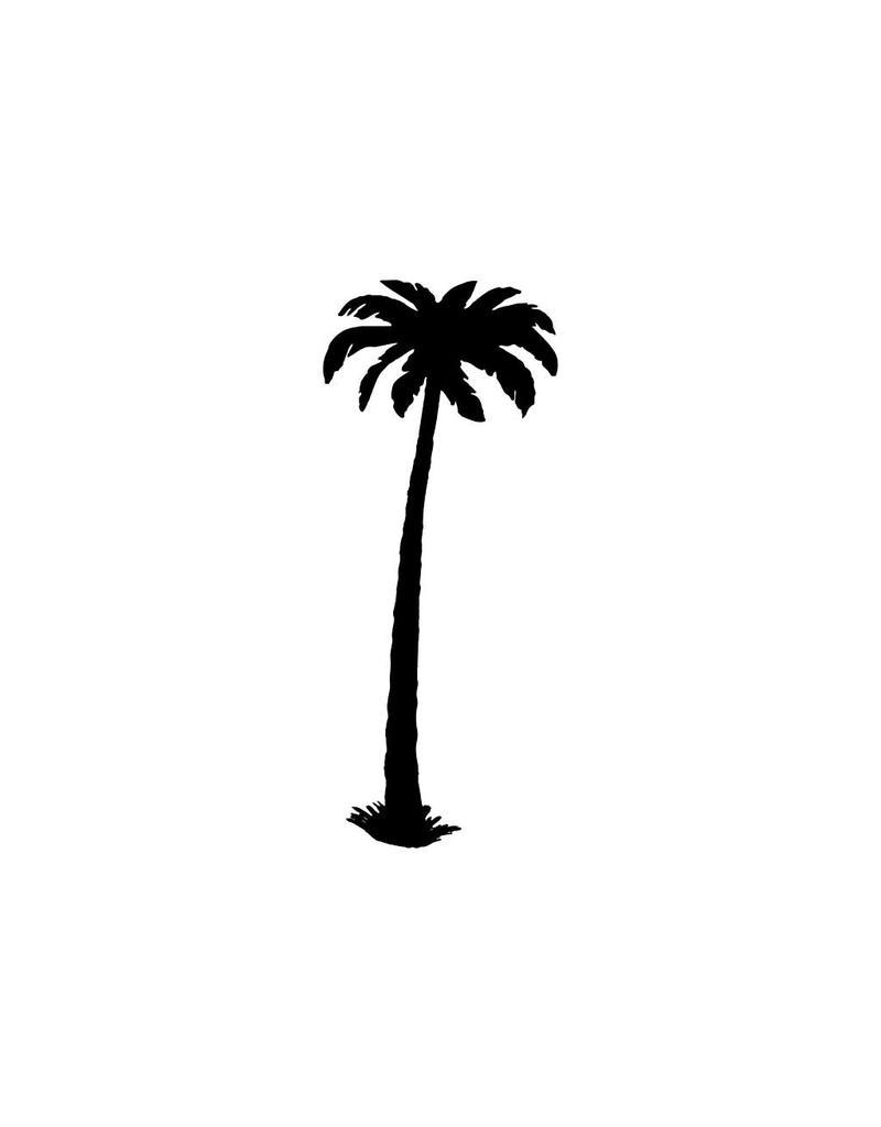 Palme Aufkleber