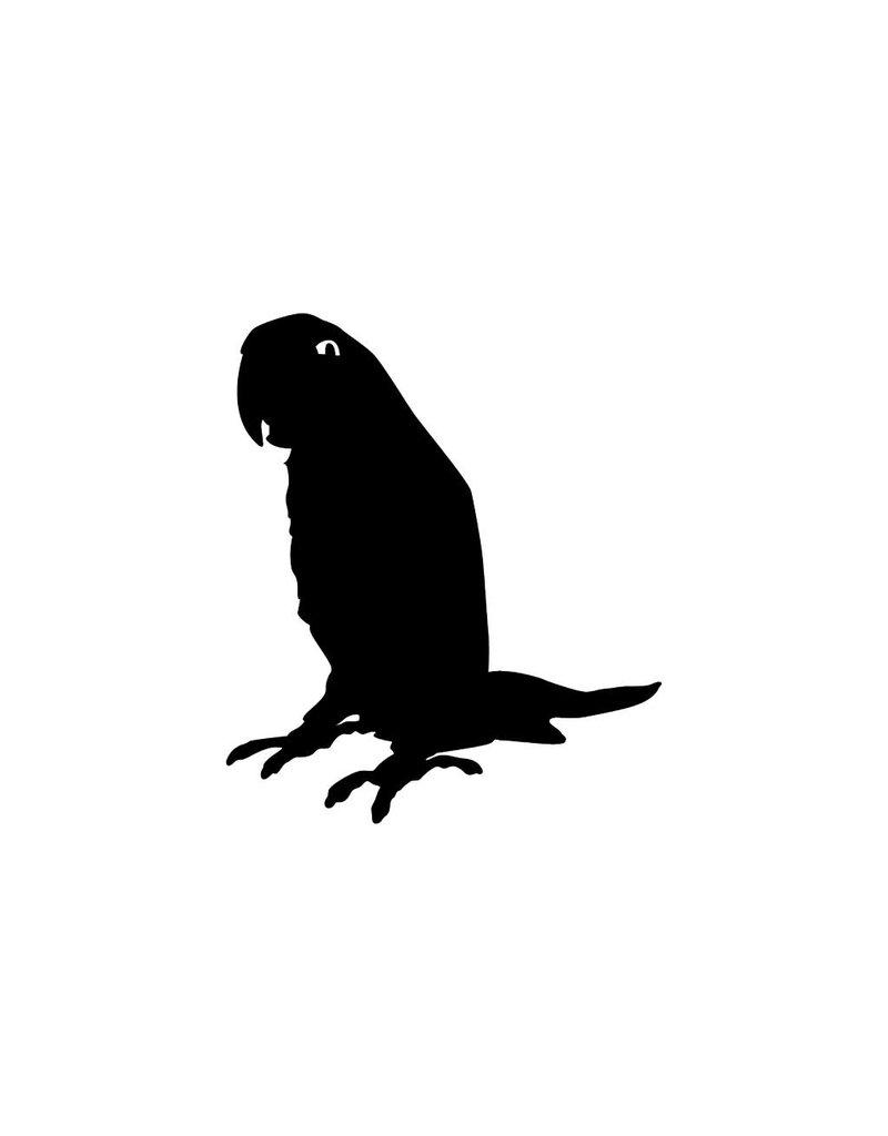 Papegaai Sticker