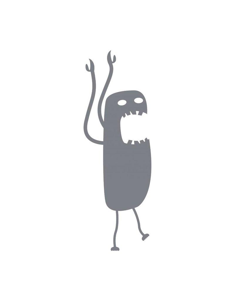Pegatina monstruo 13