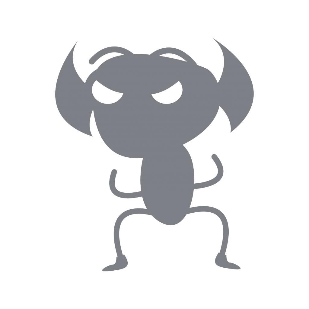 Pegatina monstruo 11