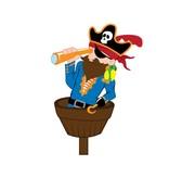 Kinderkamer Sticker - Piraat