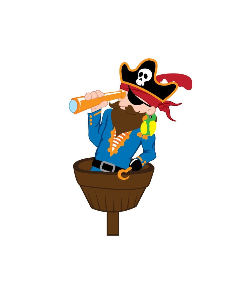 children's room Sticker - Pirate